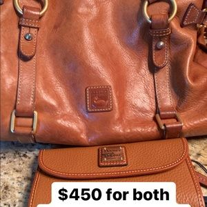 Dooney & Bourke bag and wallet